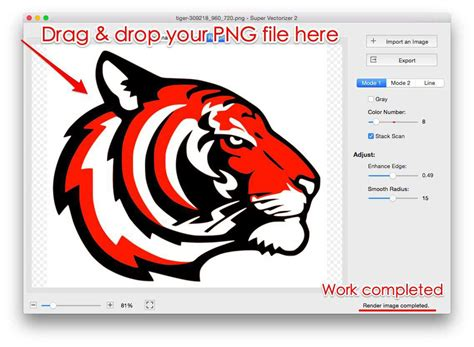 Then click the convert button. PNG to SVG Converter: How to Convert JPG to SVG, PNG to ...