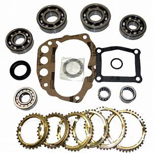 Fs5w71 Transmission Bearing  Seal Kit W  Synchro Rings 1990