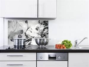 Wandbilder Für Die Küche : spritzschutz glas f r die k che schwarz wei dampf frau konturen gesicht kunst ebay ~ Markanthonyermac.com Haus und Dekorationen