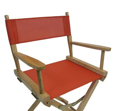 vinyl mesh director s chair replacement cover set
