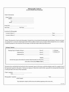 Template For Employee Write Up Photography Contract Template 6 Free Templates In Pdf