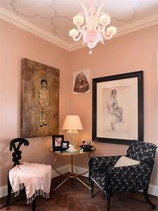 Pink, Living, Rooms, Ideas, That, Are, Not, Overbearing