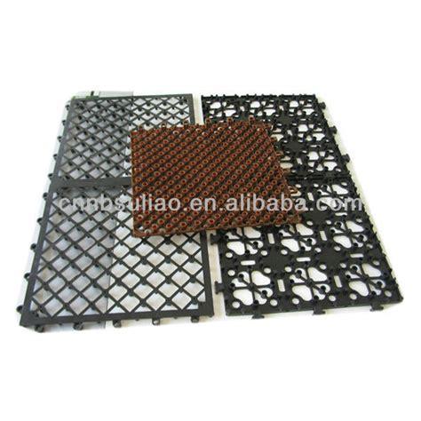 Protective Plastic Tile Flooring,Floor Tiles Standard Size