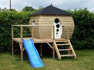 plan cabane enfant 15 cabanes a construire soi meme With amenagement exterieur terrasse maison 15 maison en bois les cabanes dolivier cabane en bois
