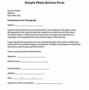 Sample photo release form courtesy of dr eric garcia and for Wedding photo release form