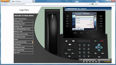 cisco unified ip phone   forwarding  calls