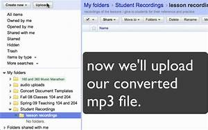 upload audio to google docs for studentsmov youtube With google docs login for students
