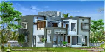 contemporary home plans modern house design in 2850 square home kerala plans