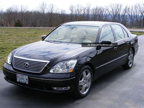 2005 Lexus Ls430 Sedan 4 Door 4 3l