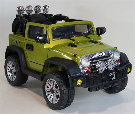 car jeep ride on car jeep wrangler style remote control 12volts
