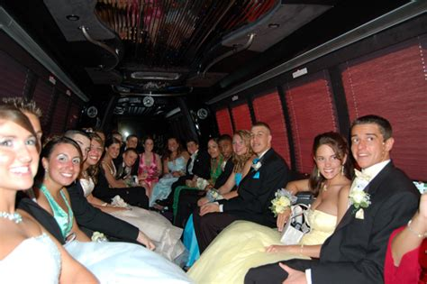 party bus prom prom party limo rental party bus and limo rental prom