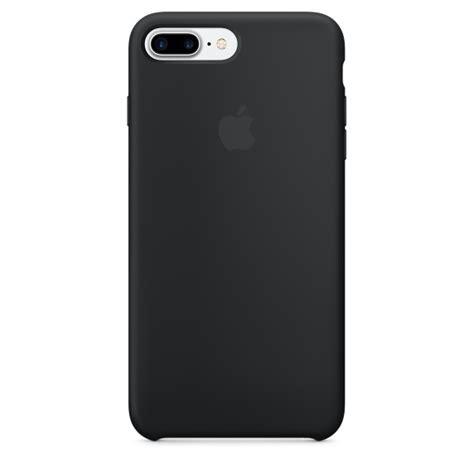 iphone plus cases iphone 7 plus silicone black apple