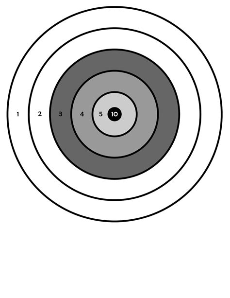 Bb Gun Targets Printable Lifestyle Intech
