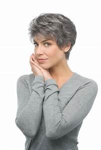 Coupe Courte Femme Cheveux Gris : coupe cheveux courts gris 2016 ~ Melissatoandfro.com Idées de Décoration