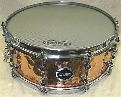 Hammered Copper Snare Hand Crush Drum X6