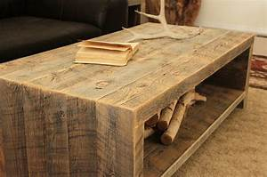 Reclaimed Wood Coffee Table - Modern - Coffee Tables