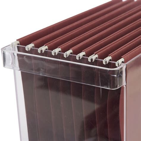 Acrylic File Box in File Storage Boxes
