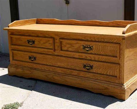 storage bench  drawers home furniture design
