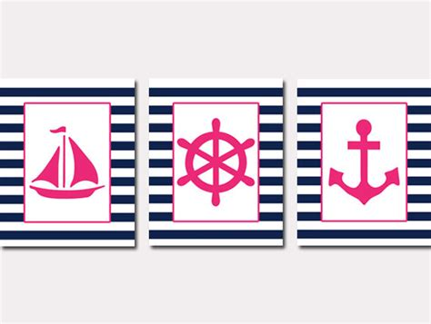 Sailboat Wheel Wall Decor by Nautical Nursery Baby Nautical Sailboat By