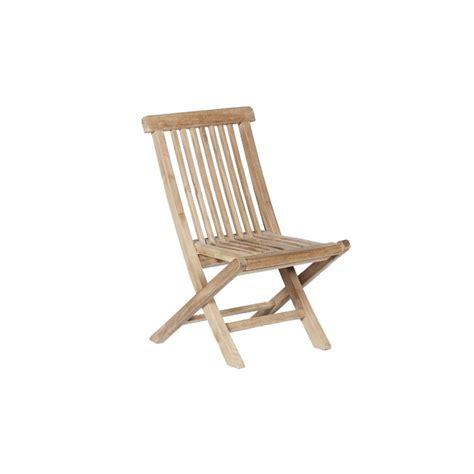 chaise de jardin en bois chaise de jardin enfant en teck pako teckandco