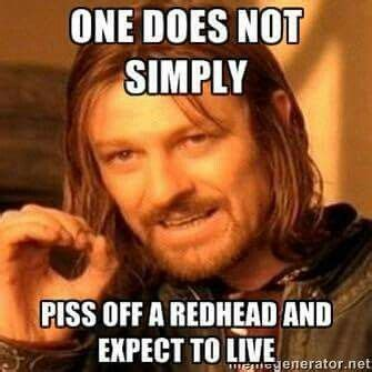 Redhead Meme - best 25 redhead quotes ideas on pinterest ginger quotes red hair quotes and red hair facts