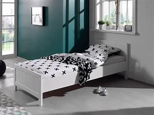 Bett 90 X 200 Weiß : einzelbett erik liegefl che 90 x 200 cm wei wohnen betten ~ Bigdaddyawards.com Haus und Dekorationen