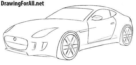 draw  jaguar car drawingforallnet