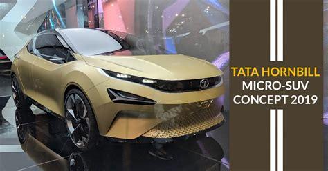 Tata Hornbill Micro-suv Concept Ready For A Shiny Launch
