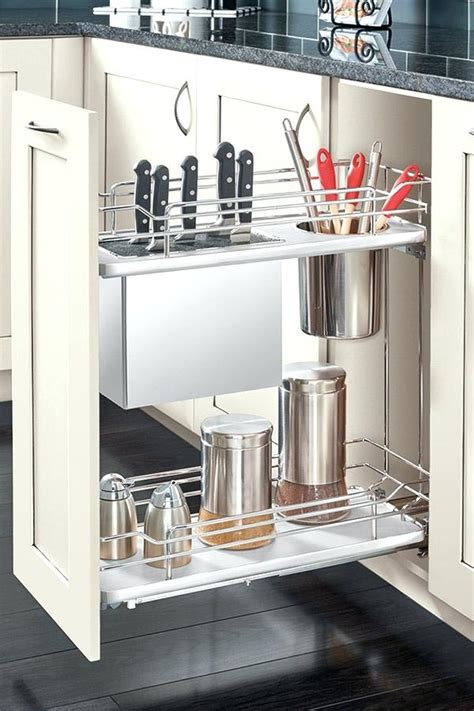narrow pull out cabinet organizer pantry organizers