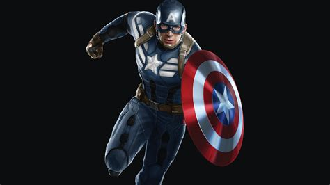 wallpaper captain america superheroes marvel comics hd