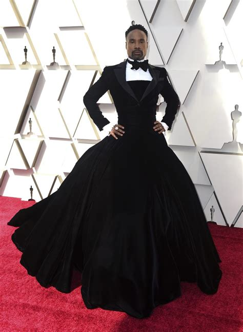 Actor Billy Porter Made Statement Tuxedo Dress With