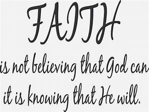 Short Inspirational Quotes Faith