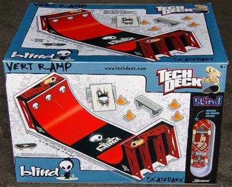 tech deck half pipe vert r blind exclusive white box