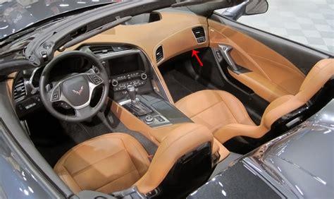corvette stingrayzgrand sport  gm rh leather
