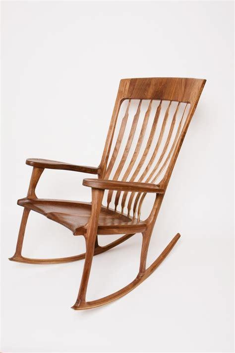 handmade rocking chair by design by jeff spugnardi