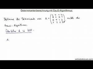 Matrix Kern Berechnen : berechnung einer determinante doovi ~ Themetempest.com Abrechnung