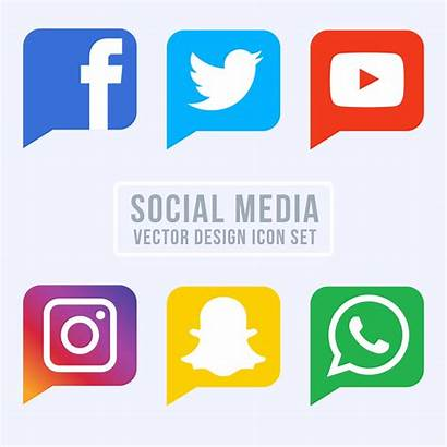 Social Icons Vector Clipart Graphics