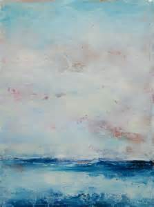 Blue Abstract Landscape Oil Paintings