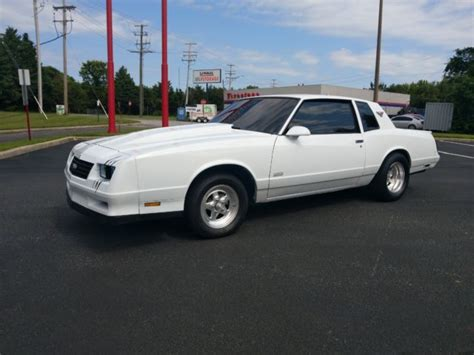 1987 monte carlo ss with stock and weld wheels for sale