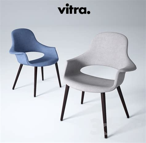 3d models chair vitra organic chair charles eames