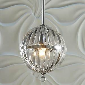 Fluted glass globe pendant lighting by shades