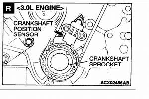 Crankshaft Position Sensor Location  6 Cyl Front Wheel Drive