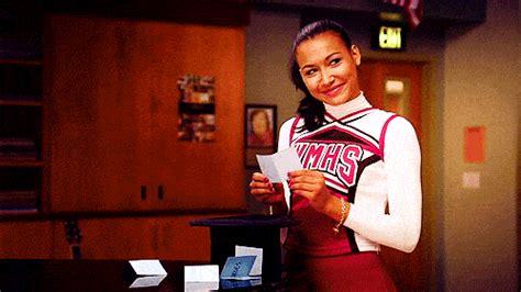 Gilf Glee Santana Lopez Gif