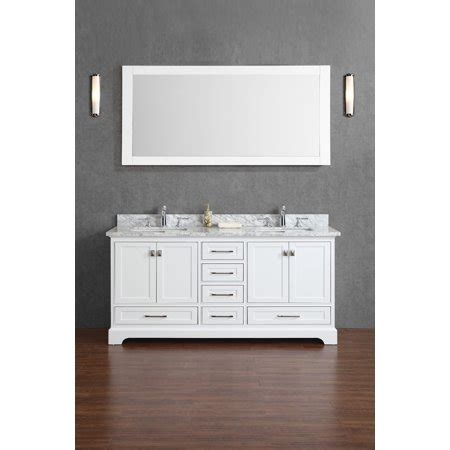 72 Inch Bathroom Mirror by Newport White 72 Inch Sink Bathroom Vanity With