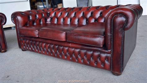 Loveable 5 Divano Chesterfield Vintage Usato
