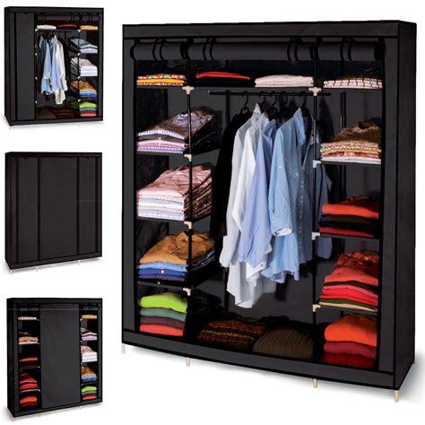 armoir de chambre armoire de rangement dressing penderie tissu