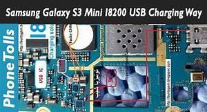 Samsung Galaxy S3 Mini I8200 Usb Charging Way