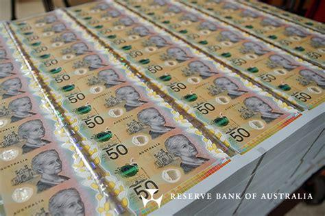 reserve bank  australia banknotes