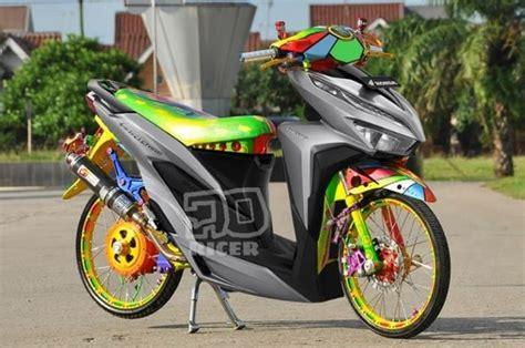 Foto Vario 125 Thailook by Bikin Kaget Vario Baru Launching Eh Udah Ada Yang Modif