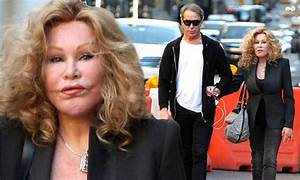 'Catwoman' Jocelyn Wildenstein in all black ensemble with ...